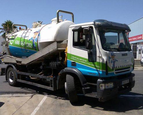 Rotulación camión Saytra