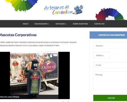 Mascotas corporativas Artesanos del Carnaval